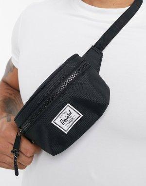 Черная сумка-кошелек на пояс Twelve-Черный Herschel Supply Co