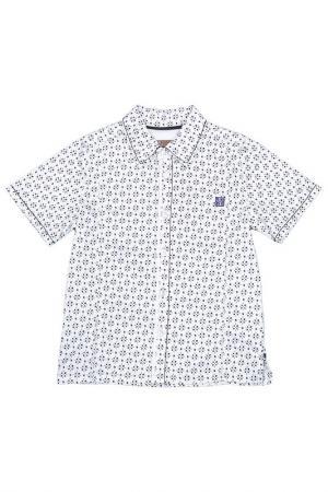 Рубашка JEAN BOURGET. Цвет: белый