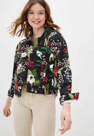 Куртка джинсовая Q/S designed by. Цвет: черный