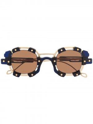Солнцезащитные очки V1 Sun Mask Kuboraum. Цвет: черный