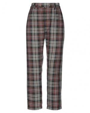 Повседневные брюки PENCE. Цвет: коричневый