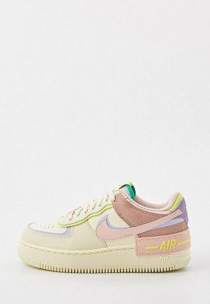 Кеды Nike W AF1 SHADOW. Цвет: разноцветный