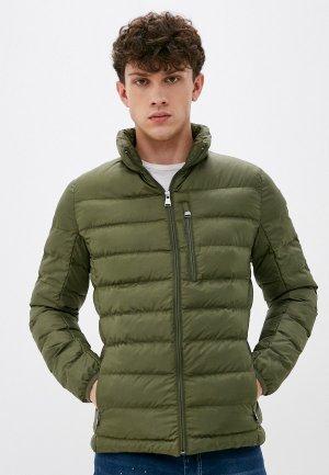 Куртка утепленная Giorgio Di Mare. Цвет: хаки
