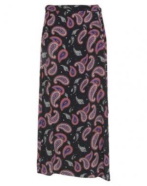 Длинная юбка EMMA & GAIA. Цвет: черный