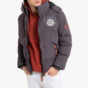 Куртка La Redoute. Цвет: серый