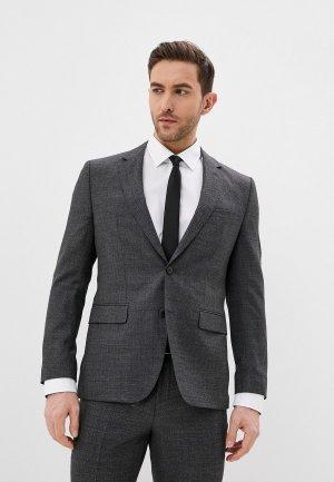 Пиджак Hugo Jeffery202. Цвет: серый
