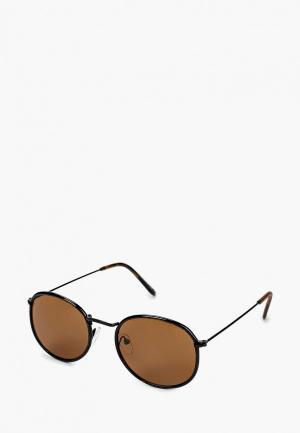 Очки солнцезащитные Only & Sons. Цвет: коричневый