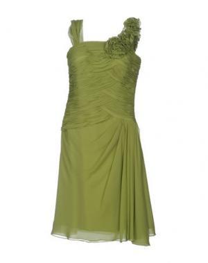 Платье до колена CARLO PIGNATELLI. Цвет: светло-зеленый