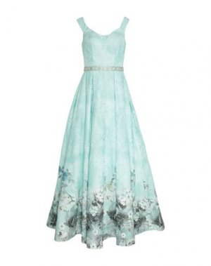 Длинное платье MIKAEL. Цвет: небесно-голубой