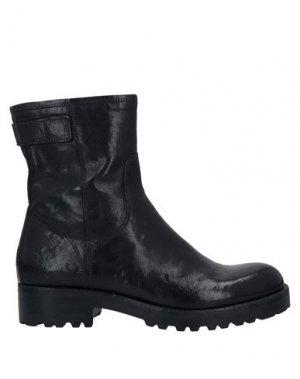 Полусапоги и высокие ботинки CORVARI. Цвет: черный