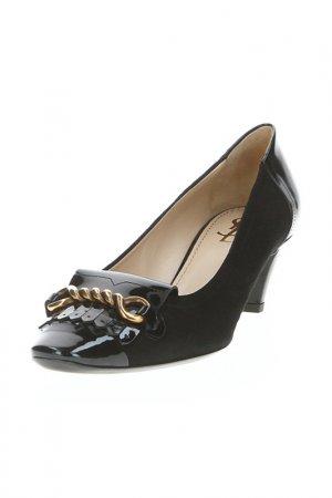 Туфли Y.S.LAURENT. Цвет: черный