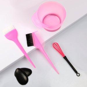 Набор красок для волос SHEIN. Цвет: розовые