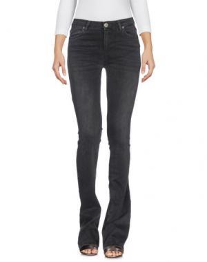 Джинсовые брюки 2ND ONE. Цвет: стальной серый