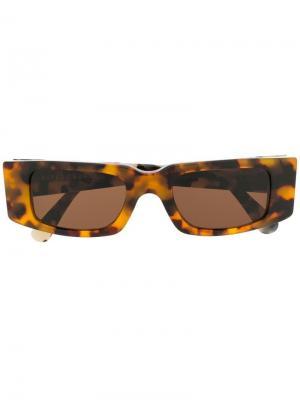 Солнцезащитные очки Super Sunnei. Цвет: коричневый