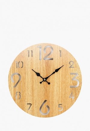 Часы настенные Русские подарки. Цвет: коричневый