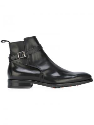 Ботинки Max B Store. Цвет: чёрный