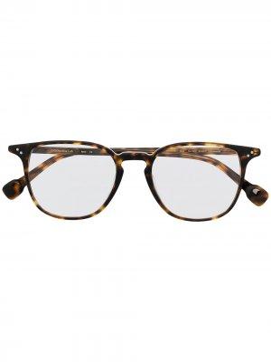 Солнцезащитные очки Oliver GIGI STUDIOS. Цвет: коричневый