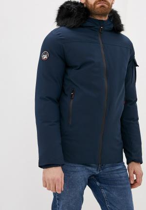 Куртка утепленная Geographical Norway. Цвет: синий
