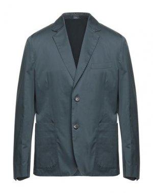 Пиджак PAUL SMITH. Цвет: свинцово-серый