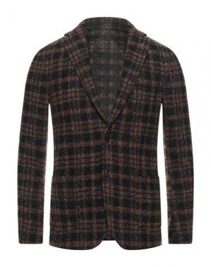 Пиджак PAOLONI. Цвет: коричневый