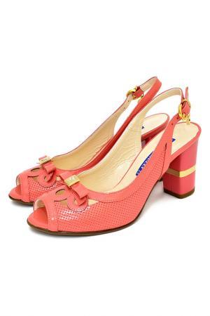 Туфли Gilda Tonelli. Цвет: розовый, коралловый
