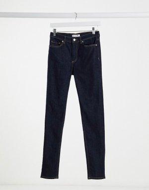 Узкие джинсы -Синий Lacoste
