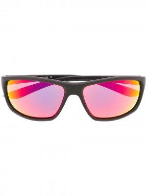 Солнцезащитные очки Rabid в квадратной оправе Nike. Цвет: черный