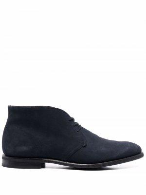 Churchs ботинки дезерты Enfield Church's. Цвет: синий