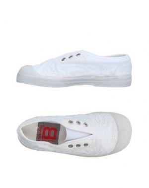 Низкие кеды и кроссовки BENSIMON. Цвет: белый
