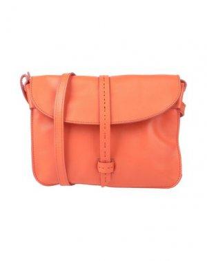 Сумка через плечо CATERINA LUCCHI. Цвет: оранжевый