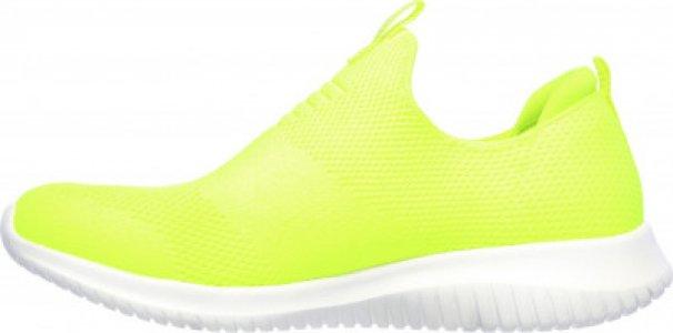 Слипоны женские Ultra Flex, размер 36 Skechers. Цвет: желтый
