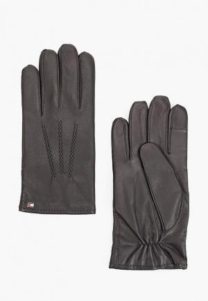 Перчатки Tommy Hilfiger. Цвет: коричневый