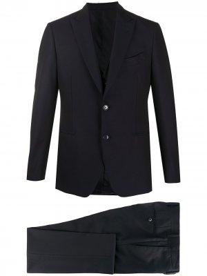 Delloglio строгий костюм-тройка Dell'oglio. Цвет: синий