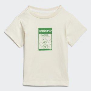 Футболка Disney Tinkerbell Organic Cotton Originals adidas. Цвет: none