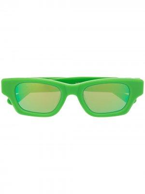 Солнцезащитные очки Ray AMBUSH. Цвет: зеленый