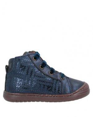 Низкие кеды и кроссовки BISGAARD. Цвет: темно-синий
