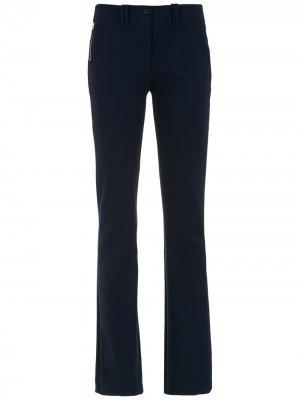 Straight pants Gloria Coelho. Цвет: синий