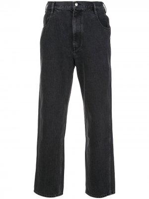 Прямые джинсы завышенной посадки Simon Miller. Цвет: черный