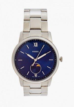 Часы Fossil FS5618. Цвет: серебряный