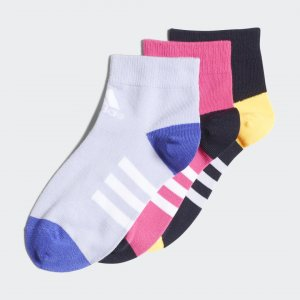 Три пары носков Ankle Performance adidas. Цвет: разноцветный