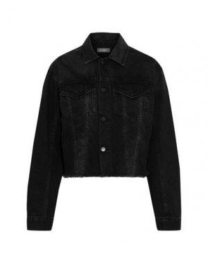 Джинсовая верхняя одежда DL1961. Цвет: стальной серый