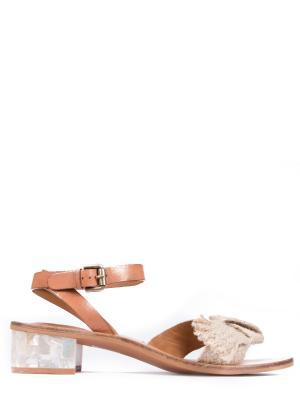 Комбинированные сандалии SEE BY CHLOE