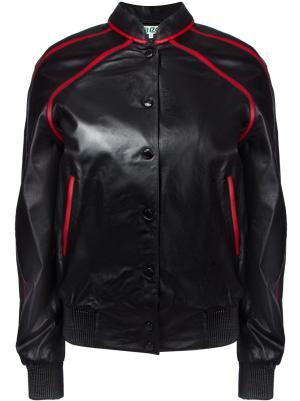 Кожаная куртка KENZO