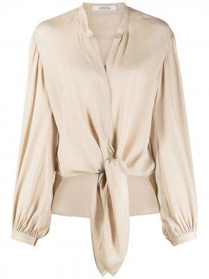 Блузка Fluid Luxury Dorothee Schumacher. Цвет: нейтральные цвета