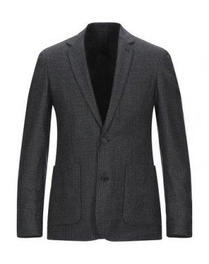Пиджак SANDRO. Цвет: свинцово-серый