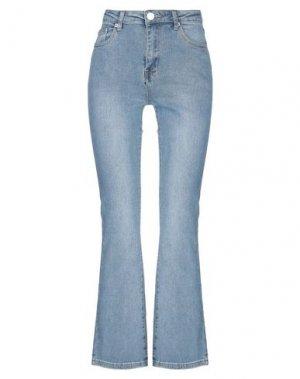 Джинсовые брюки GLAMOROUS. Цвет: синий