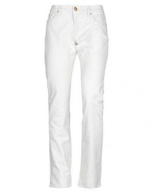 Джинсовые брюки POLO JEANS COMPANY. Цвет: слоновая кость