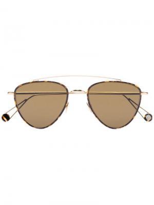 Солнцезащитные очки Place de Pyramides Ahlem. Цвет: коричневый