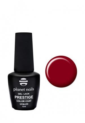 Гель-лак для ногтей Planet Nails PRESTIGE - 543, 10 мл насыщенный красный. Цвет: красный