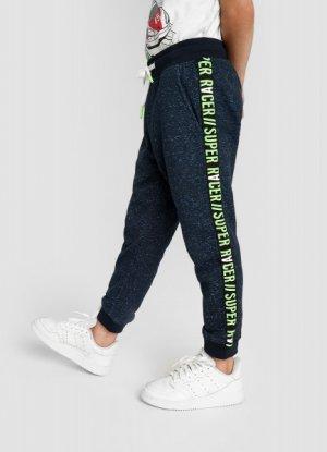 Трикотажные брюки для мальчиков O`Stin. Цвет: глубокий синий